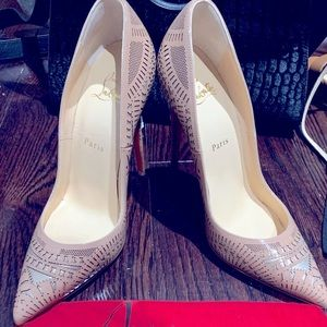 Christian Louboutin Very limited travel laser cut